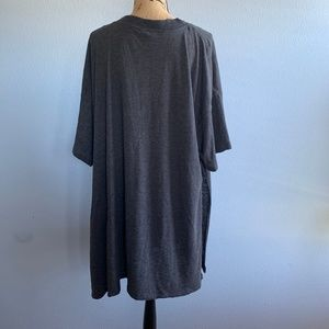 Free People Tops - We The Free Solid City Slicker Gray Tunic S